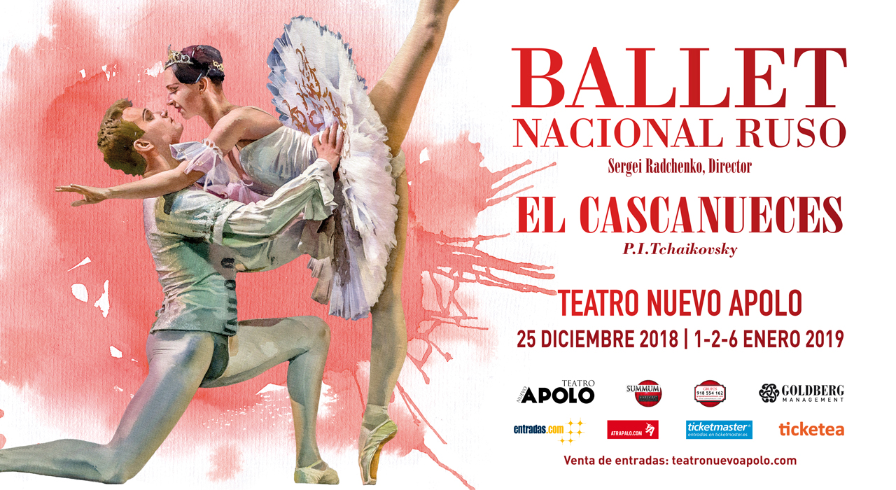 Tickets for El Cascanueces - Ballet Nacional Ruso en Madrid (Teatro Nuevo Apolo)