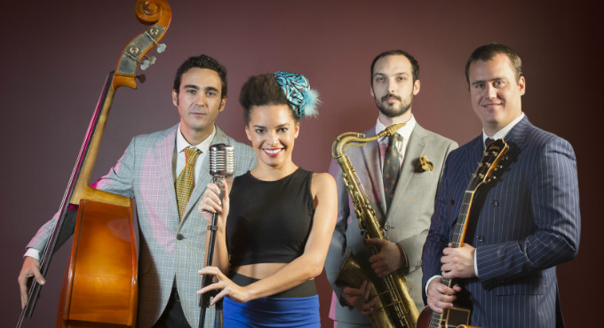 Saphie Wells & The Swing Cats en Barcelona (Sala Jamboree)