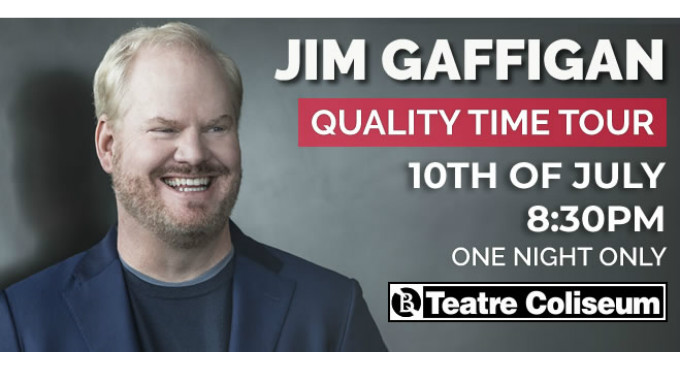 Tickets for Jim Gaffigan en Barcelona (Teatre Coliseum)