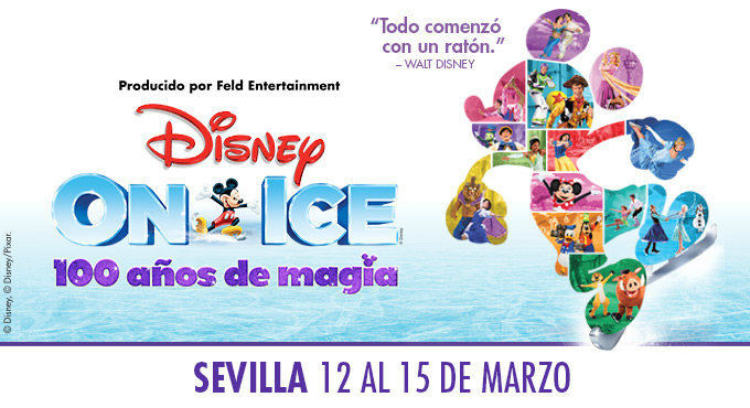 Tickets for Disney On Ice - 100 años de magia en Sevilla