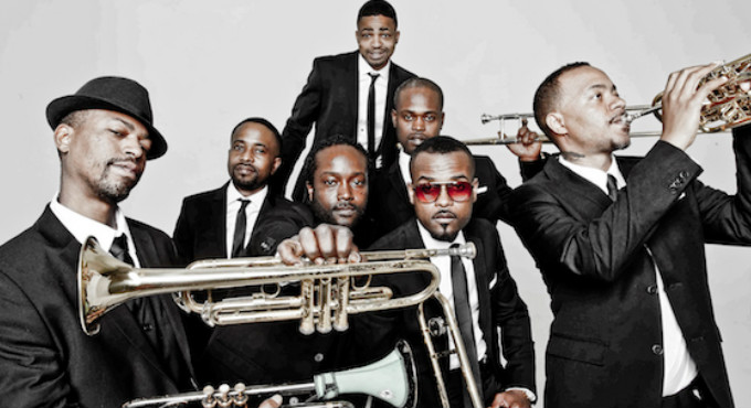 Hypnotic Brass Ensemble en Barcelona (Teatro Coliseum)