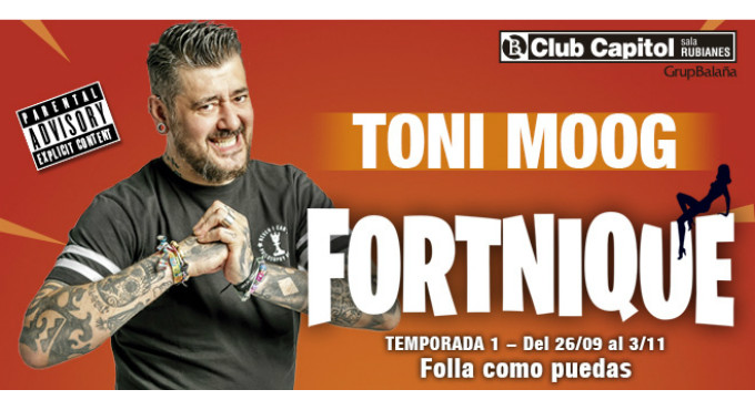 Tickets for Fortnique de Toni Moog en Barcelona (Club Capitol)