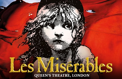 Musical Los Miserables en Londres (Queen's Theatre)