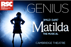 Entradas para Musical Matilda en Londres (Cambridge Theatre)