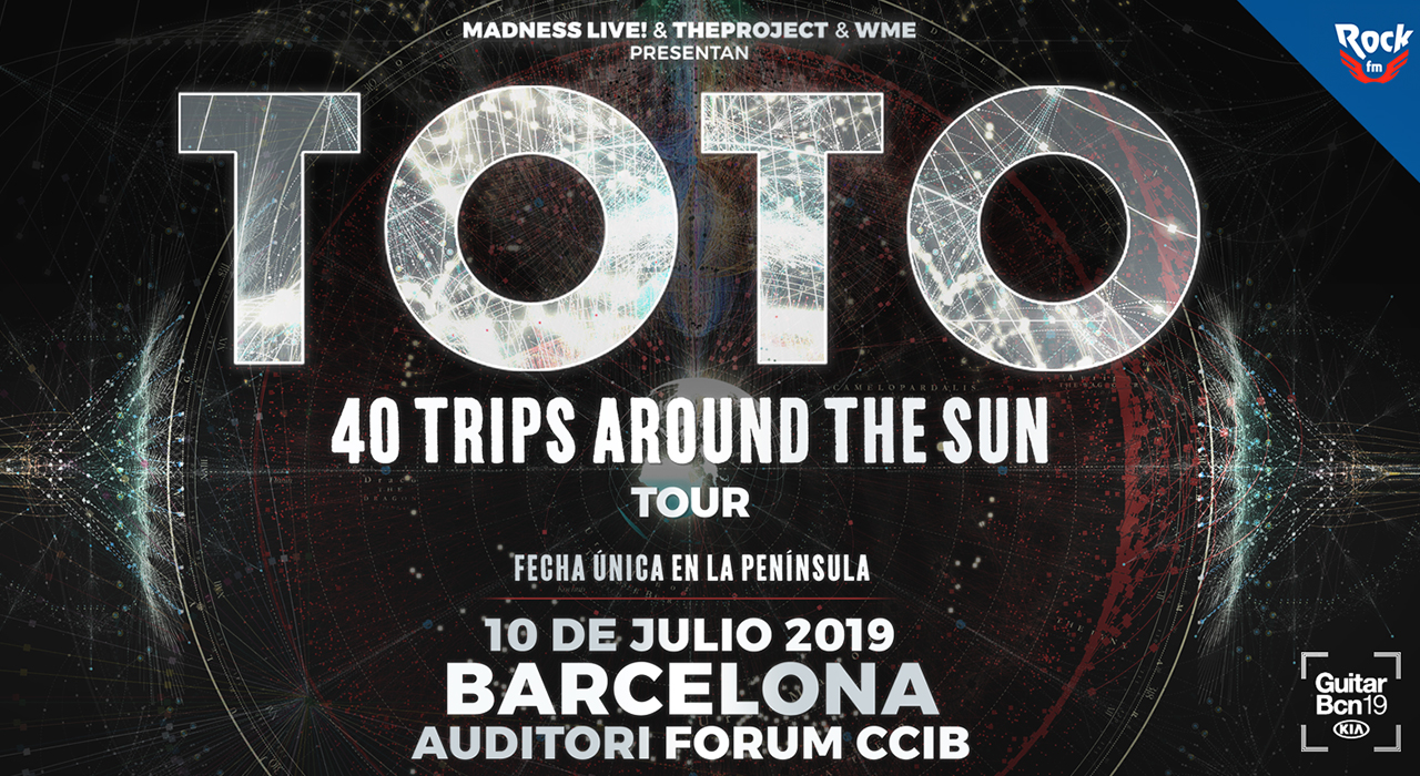 Tickets for Toto en el Festival Guitar BCN 2019