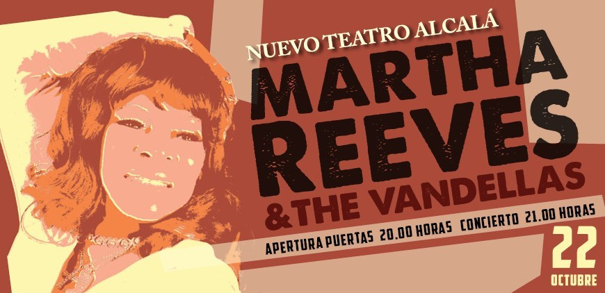 Martha Reeves & The Vandellas en Madrid(Nuevo Teatro Alcalá)
