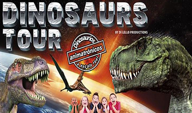 Tickets for Dinosaurs Tour en Pamplona (Recinto Ferial de Navarra)