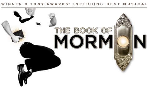 Tickets for Musical El libro de Mormon en Londres (Prince of Wales Theatre)