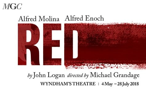 Obra Red en Londres (Wyndhams Theatre)
