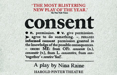 Obra Consent en Londres (Harold Pinter Theatre)