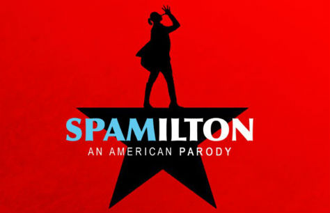 Musical Spamilton en Londres (Menier Chocolate Factory)