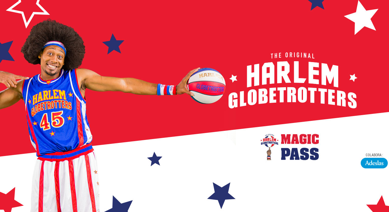 Harlem Globetrotters en Madrid (WiZink Center)