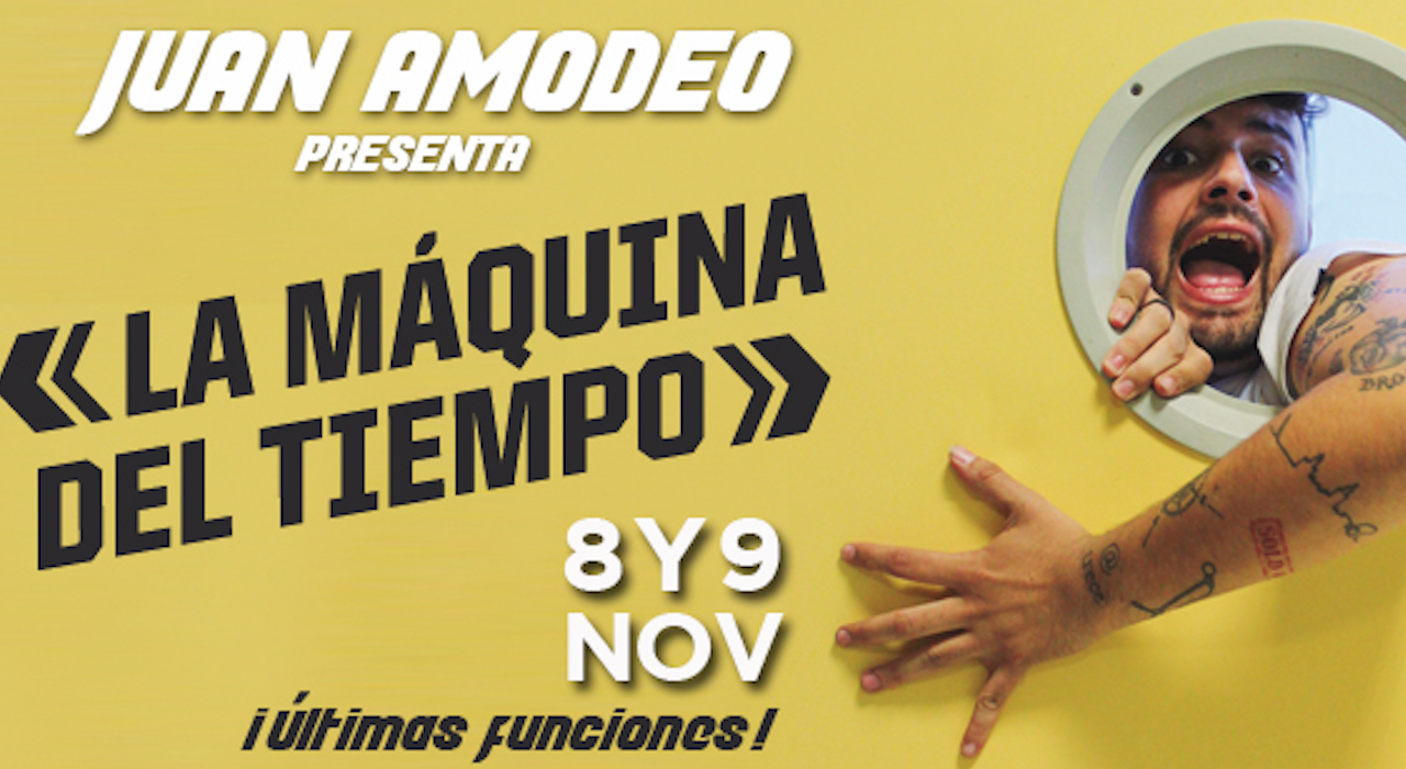 Tickets for Juan Amodeo - La máquina del tiempo en Barcelona (Teatre Borràs)