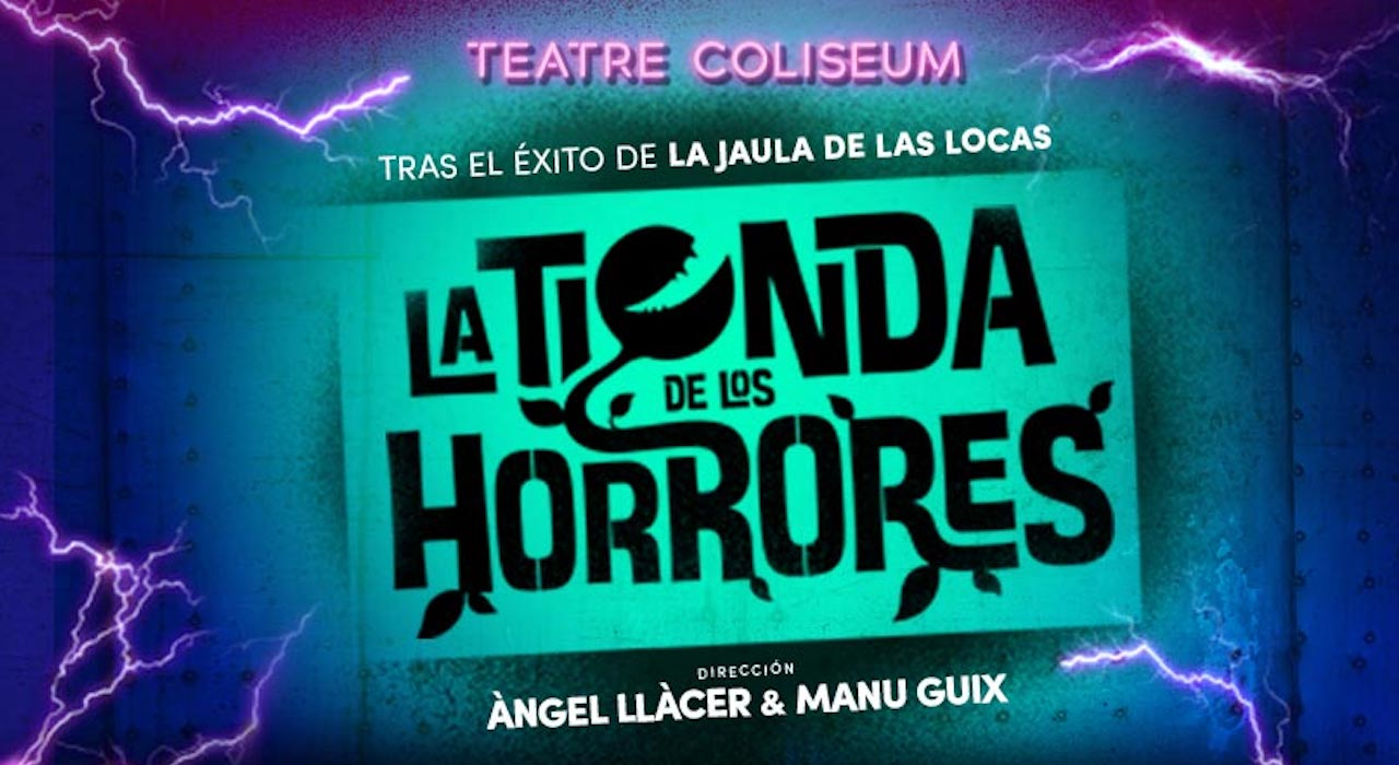 Tickets for La tienda de los horrores en Barcelona (Teatro Coliseum)
