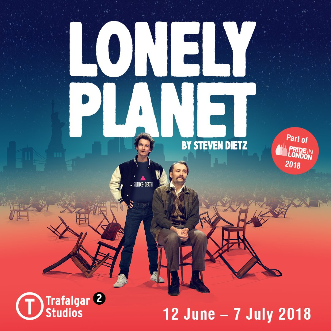 Obra Lonely Planet en Londres (Trafalgar Studios 2)