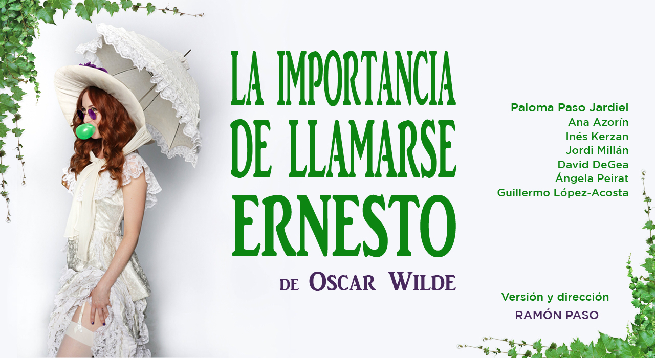 Tickets for La importancia de llamarse Ernesto en Madrid (Teatro Lara)