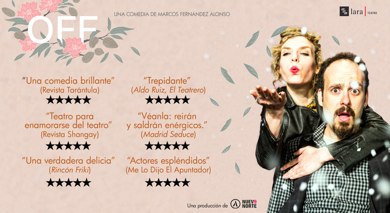 Tickets for OFF en Madrid (Teatro Lara)