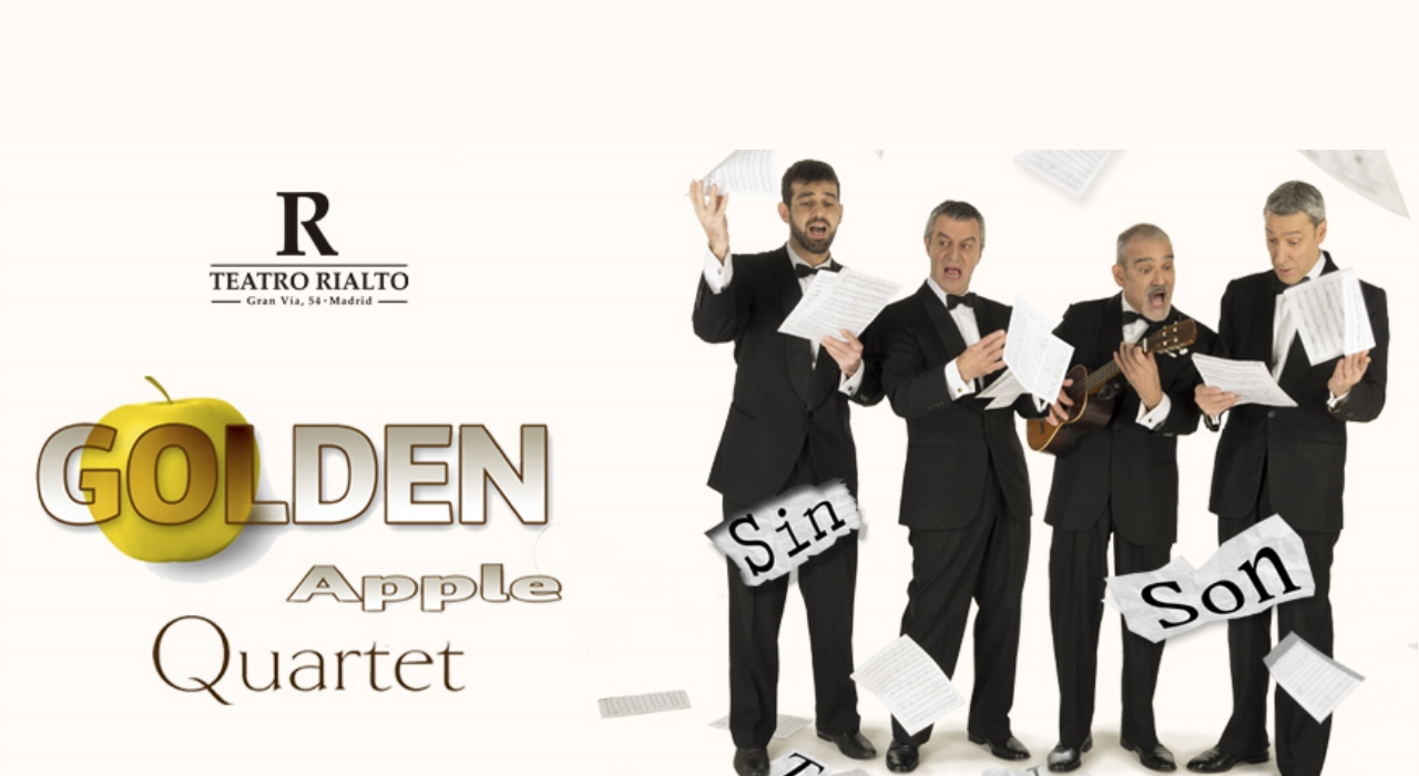 Golden Apple Quartet en Madrid | Teatro Rialto
